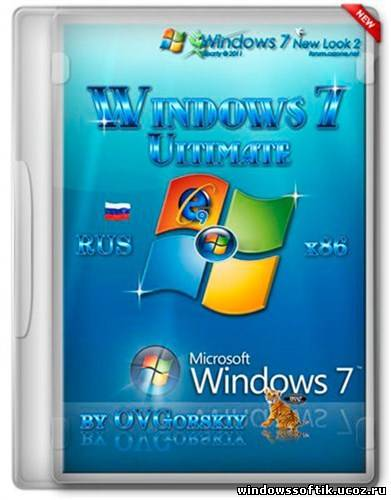 Microsoft Windows 7 Ultimate Ru x86 SP1 WPI by OVGorskiy® 08.2012
