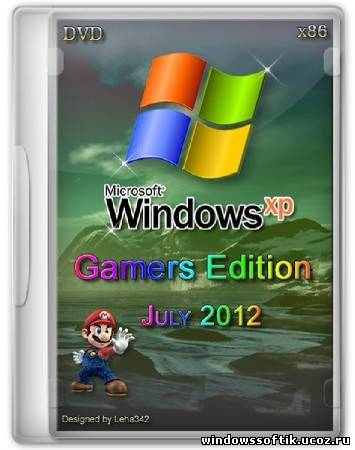 Windows Xp Pro SP3 Gamers Edition DVD July 2012 + Driverpack (x86/ENG/RUS/2012)