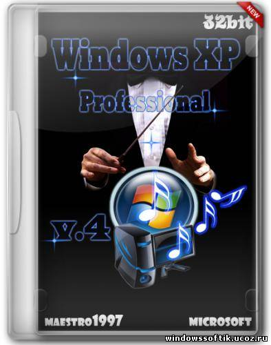 Windows XP Professional SP3 by maestro1997 v4