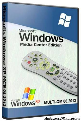 Windows XP PRO Media Center Edition SP3 08.2012 MULTI-OM (ENG+RUS)
