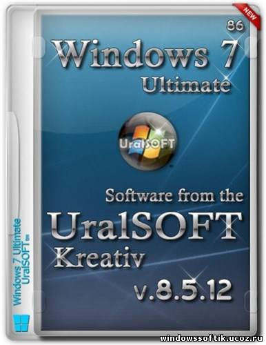 Windows 7 x86 Ultimate UralSOFT Kreativ v.8.5.12