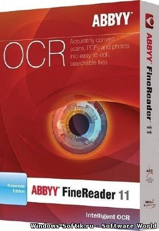 ABBYY FineReader 11.0.110.122 Rus Corporate Edition (Portable by Risovod)