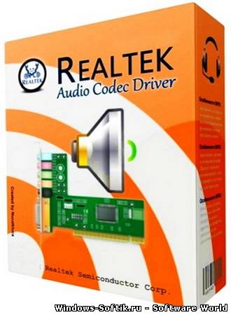 Realtek High Definition Audio Drivers 6.01.6914 WHQL (2013)