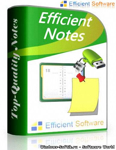 Efficient Notes Pro 3.55 Build 348 + Rus Orfo + Portable ML/Rus