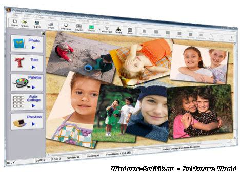 Galleria Software Collage Maker v3 80