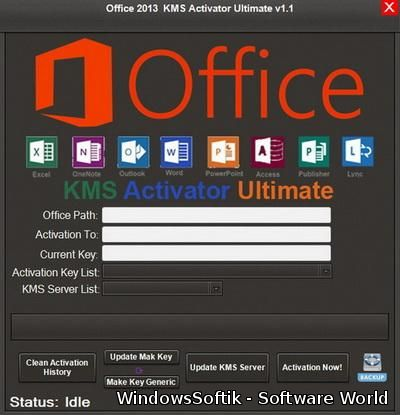 Office 2013 KMS Activator Ultimate v1.1 + Portable