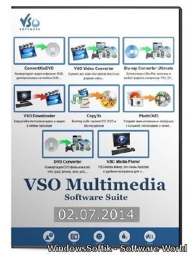 VSO Multimedia Software Suite (02.07.2014)