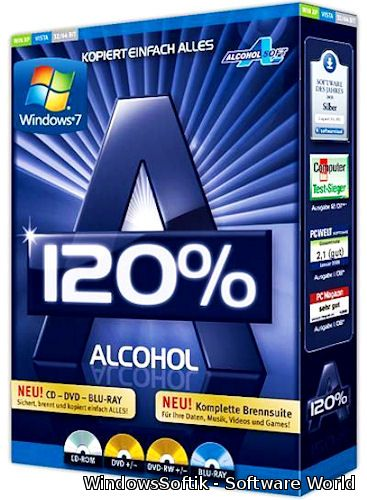 Alcohol 120% 2.0.3.6732 Final RePack by D!akov