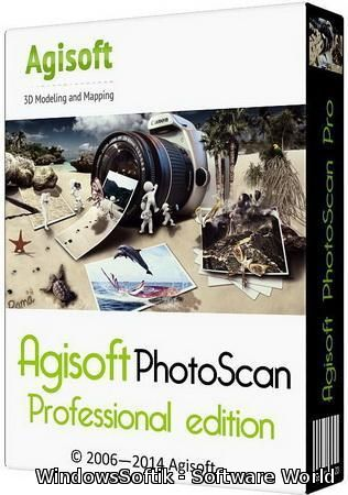 Agisoft PhotoScan Professional 1.1.3 Build 2018 Final