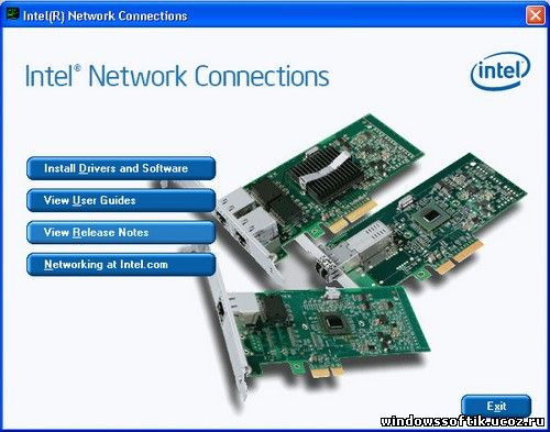 Intel Network Connections Software 17.4