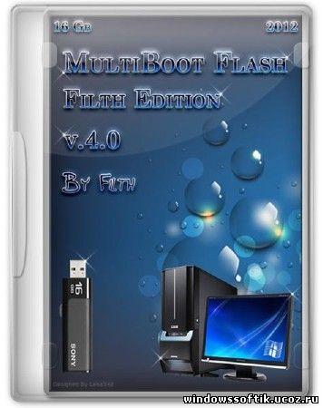MultiBoot Flash Filth Edition v4.0 + Bonus (RUS/ENG/2012)