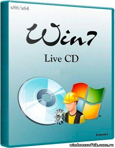 Win7 Live CD x86/x64 (Xemom1) (06.08.2012)