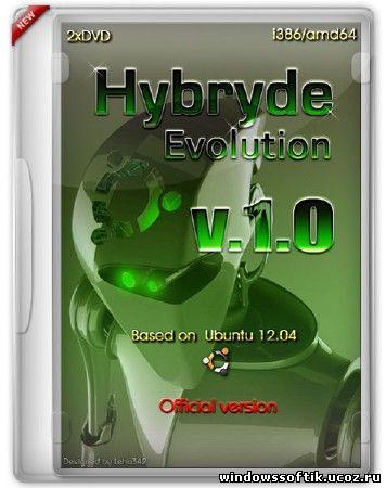 Hybryde Evolution v.1.0 (i386/amd64/ML/RUS/2012)