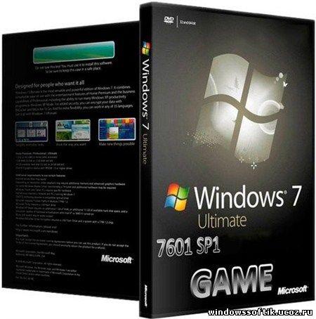 Windows 7 Ultimate SP1 L.E.X.A Game Edition (2012/x64)