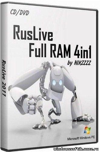 NIKZZZZ, RusLive, Full RAM, Live CD, сборка