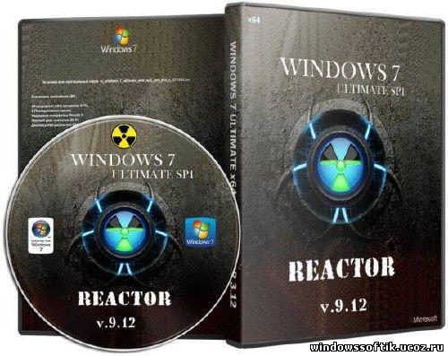 Windows 7 Ultimate x64 Reactor FULL 9.12 (RUS/2012)