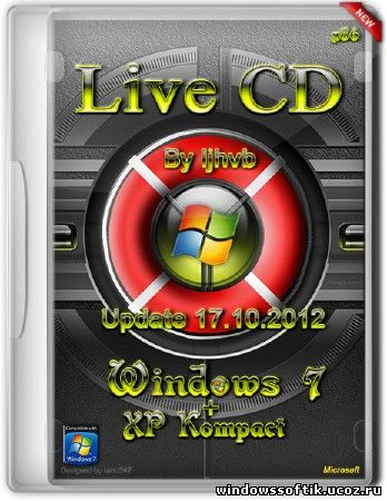Live CD7+XP (Seven+Kompact) Update 17.10.2012 (x86/RUS)