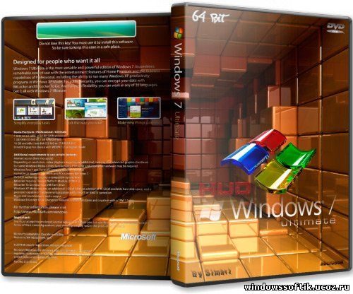 Windows7 Ultimate x64 v.0.5 By Simart (Rus/Eng/2012)