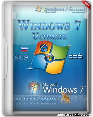 Windows 7 Ultimate x86 SP1 NL2 by OVGorskiy® 12.12 RUS