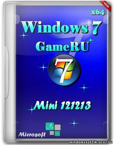 Windows 7 GameRU x64 Mini 121213 (2012/RUS)