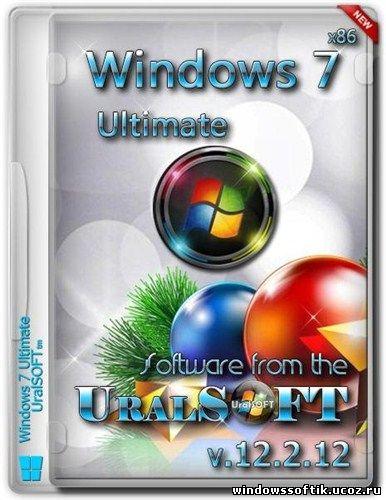 Windows 7 Ultimate UralSOFT v.12.2.12 (2012/x86)