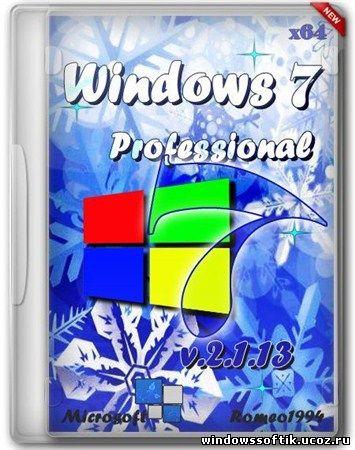 Windows 7 x64 Professional by Romeo1994 v.2.1.13 (2013/RUS)