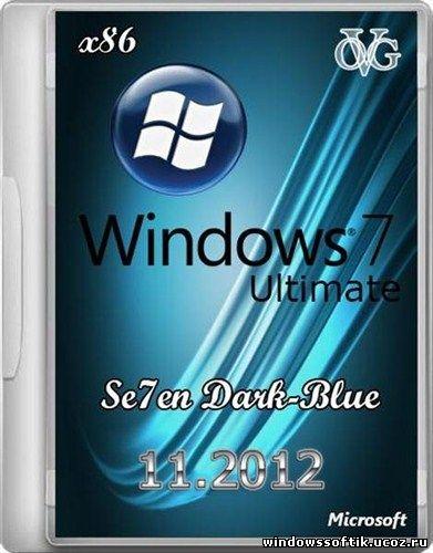 Windows 7 Ultimate x86 SP1 7DB by OVGorskiy® 11.2012 (x86/RUS)